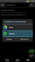 Envía fotos, videos y audio por mensaje de texto - LG G Flex - Passo 15