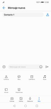 Envía fotos, videos y audio por mensaje de texto - Huawei P20 Lite - Passo 8