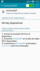 Configura el hotspot móvil - Samsung Galaxy A3 - A300M - Passo 11