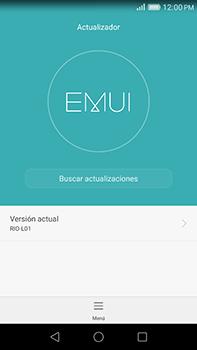 Actualiza el software del equipo - Huawei G8 Rio - Passo 5