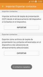 ¿Tu equipo puede copiar contactos a la SIM card? - Samsung Galaxy J5 - J500F - Passo 12