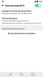 Configura el hotspot móvil - LG G5 SE - Passo 10