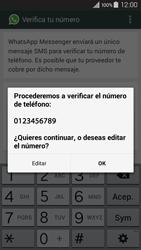 Configuración de Whatsapp - Samsung Galaxy A3 - A300M - Passo 7