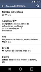 Actualiza el software del equipo - LG K4 - Passo 7