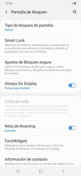 Desbloqueo del equipo por medio del patrón - Samsung Galaxy A50 - Passo 13