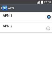 Configura el Internet - LG L40 - Passo 17