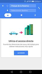 Uso de la navegación GPS - Huawei P10 - Passo 14