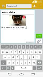 Envía fotos, videos y audio por mensaje de texto - LG G3 Beat - Passo 19