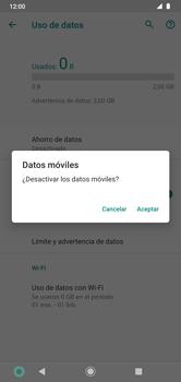 Desactiva tu conexión de datos - Motorola Moto G8 Plus (Dual SIM) - Passo 6
