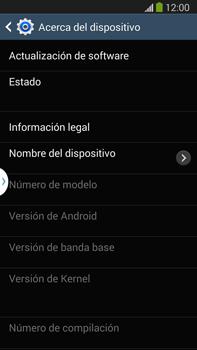 Actualiza el software del equipo - Samsung Galaxy Note Neo III - N7505 - Passo 7