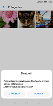 Transferir fotos vía Bluetooth - Huawei Y6 2018 - Passo 10