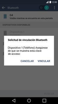 Conecta con otro dispositivo Bluetooth - LG G4 - Passo 8