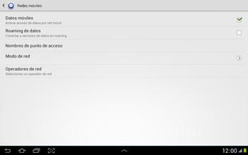 Configura el Internet - Samsung Galaxy Note 10-1 - N8000 - Passo 7