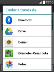 Transferir fotos vía Bluetooth - LG L20 - Passo 8
