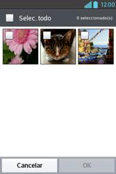 Envía fotos, videos y audio por mensaje de texto - LG L4 II - Passo 14