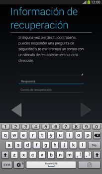 Crea una cuenta - Samsung Galaxy Tab 3 7.0 - Passo 13