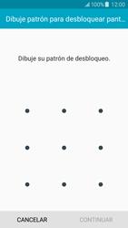 Desbloqueo del equipo por medio del patrón - Samsung Galaxy J5 - J500F - Passo 7
