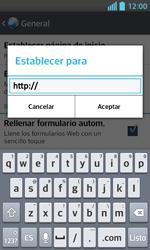 Configura el Internet - LG Optimus L5 II - Passo 24