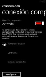 Configura el hotspot móvil - Nokia Lumia 620 - Passo 9