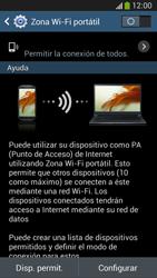 Configura el hotspot móvil - Samsung Galaxy Zoom S4 - C105 - Passo 7