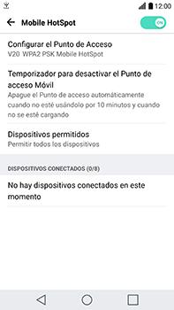 Configura el hotspot móvil - LG V20 - Passo 9
