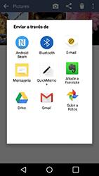Transferir fotos vía Bluetooth - LG K10 - Passo 9