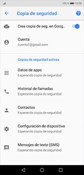Realiza una copia de seguridad con tu cuenta - Huawei P20 - Passo 11