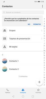 ¿Tu equipo puede copiar contactos a la SIM card? - Huawei Mate 20 Pro - Passo 3