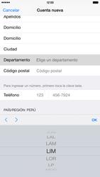 Crea una cuenta - Apple iPhone 6 Plus - Passo 21