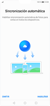 Transferir fotos vía Bluetooth - Huawei P20 - Passo 3