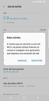 Desactiva tu conexión de datos - Samsung Galaxy S8 - Passo 6