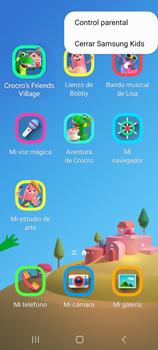 Cómo habilitar el Ambiente de Niños - Samsung Galaxy S20 - Passo 15