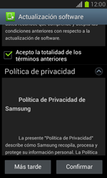 Actualiza el software del equipo - Samsung Galaxy Win - I8550 - Passo 10