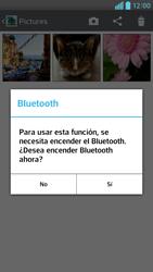 Transferir fotos vía Bluetooth - LG Optimus G Pro Lite - Passo 9