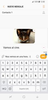 Envía fotos, videos y audio por mensaje de texto - Samsung Galaxy S8 - Passo 17