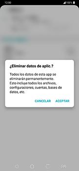 Limpieza de aplicación - LG G7 Fit - Passo 9