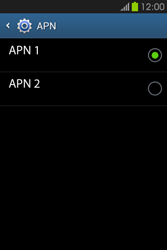 Configura el Internet - Samsung Galaxy Fame GT - S6810 - Passo 17