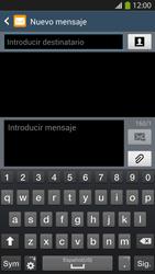 Envía fotos, videos y audio por mensaje de texto - Samsung Galaxy S4  GT - I9500 - Passo 4