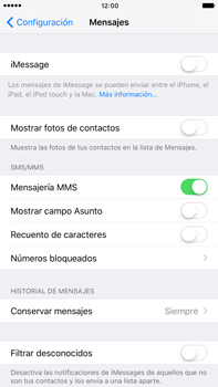 Enviar iMessage - Apple iPhone 7 Plus - Passo 4