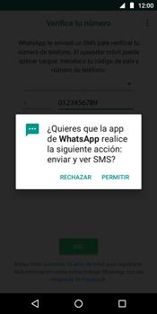 Configuración de Whatsapp - Motorola Moto E5 - Passo 11