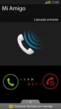 Contesta, rechaza o silencia una llamada - Samsung Galaxy Note Neo III - N7505 - Passo 3