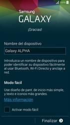 Activa el equipo - Samsung Galaxy Alpha - G850 - Passo 15