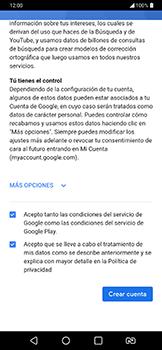 Crea una cuenta - LG G7 Fit - Passo 14