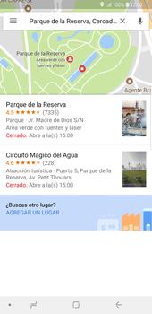 Uso de la navegación GPS - Samsung Galaxy S9 Plus - Passo 9