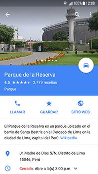 Uso de la navegación GPS - Samsung Galaxy J7 Prime - Passo 13