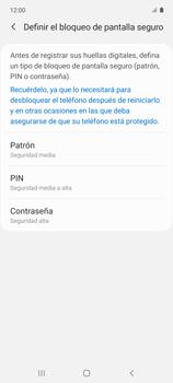Habilitar seguridad de huella digital - Samsung Galaxy A51 - Passo 6