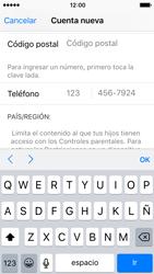 Crea una cuenta - Apple iPhone 5c - Passo 22