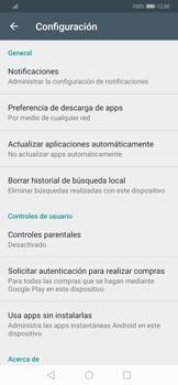 Cambiar configuración de actualizaciones de aplicaciones - Huawei Mate 20 Pro - Passo 4