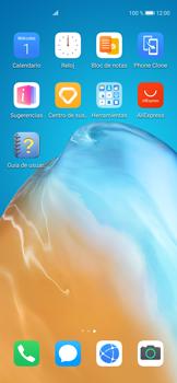 Tomar una captura de pantalla - Huawei P40 - Passo 2