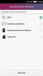 ¿Tu equipo puede copiar contactos a la SIM card? - Huawei Y3 II - Passo 5